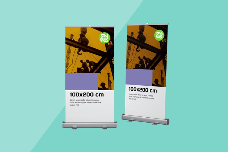 Rollup Banner Printing Dubai