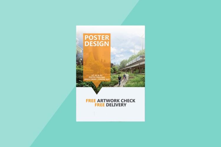 Poster printing in dubai