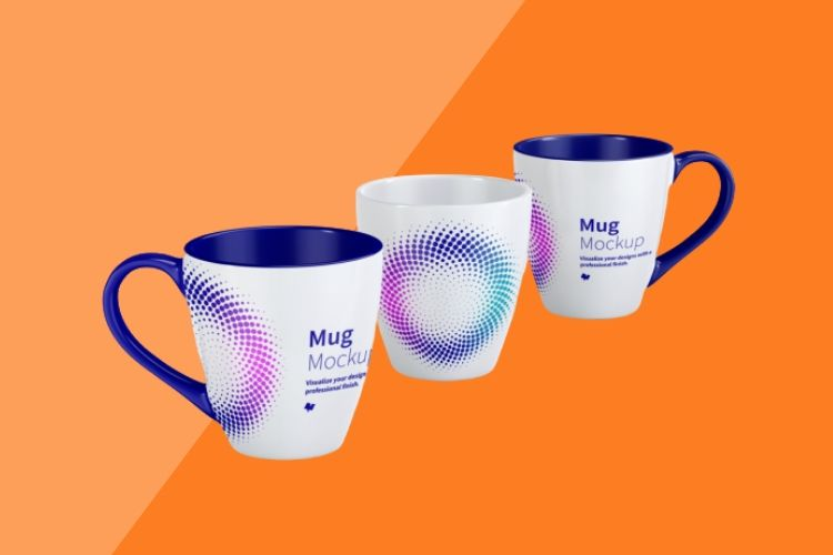 Two Tone Mugs Printing Dubai
